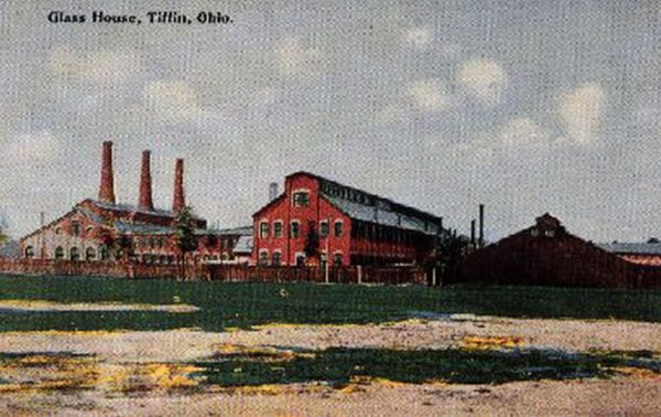 A. J. Beatty & Sons Glass Factory R part of U.S. Glass Company